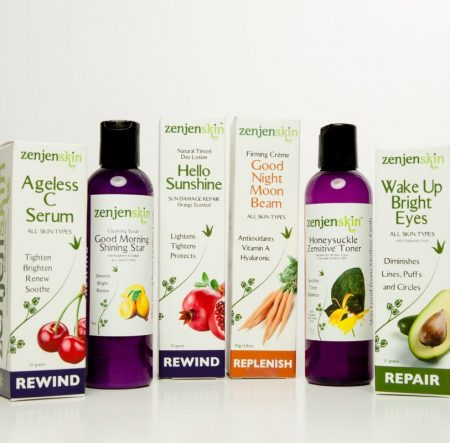 ZenFull Organic Beauty Care Package Moisturizers