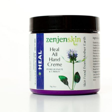 Plant based moisturizing hand cream