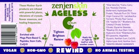 Ageless C-Ingredients-zenjenskin