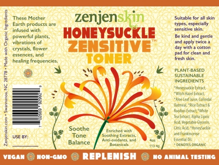 Honey-Suckle-Toner-Label