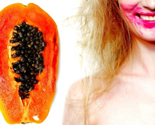 Papaya-mask-zenjenskin