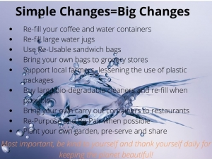 Simple changes-Big Changes