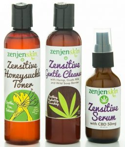 zensitive skincare package for sensitive skin