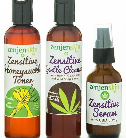 zensitive skincare package for sensitive skin